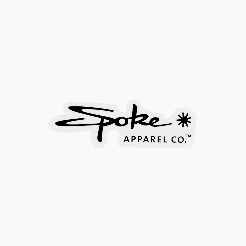 Spoke Apparel Logo Sticker